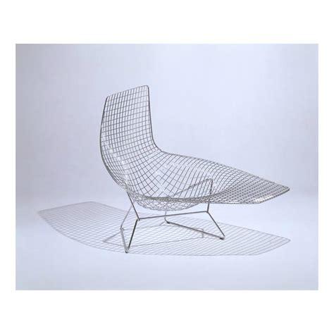 chaise bertoia bertoia asymmetric chaise knoll