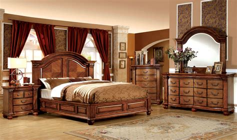 5 pc bedroom set bellagrand 5 pc bedroom set tobacco oak bedroom sets