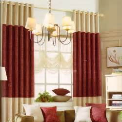 charming Modern Style Curtains Living Room #8: Red-and-Beige-Stitching-Modern-Curtains-2016-New-Arrival-CHS05031632409-1.jpg