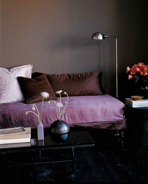brown and purple bedroom decorating with fall colors martha stewart 14660 | msl 0299 purplebrown2 hd