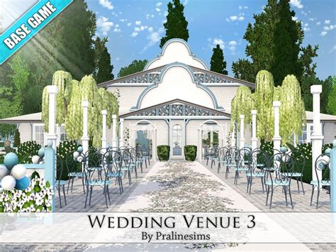 Wedding Arch The Sims 3 by Pralinesims Wedding Venue 3
