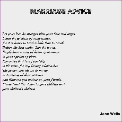Wedding Advice by Wedding Reading Marriage Advice Occasions