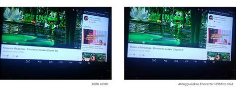 Dijamin Converter Hdmi To Vga With Audio konverter hdmi to vga aktif dijamin bisa nyambung