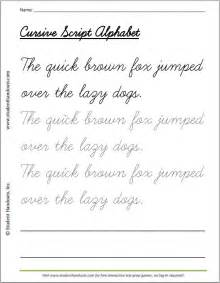 handwriting templates for adults printable cursive script practice sheet the brown