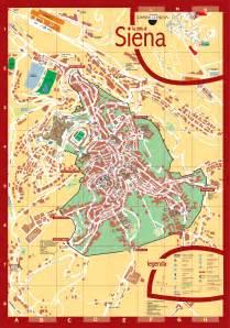 Siena Italy Map siena tourist map siena italy mappery