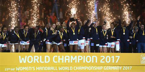 mondial de handball f 233 minin les quot battantes quot 224 l honneur