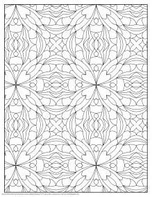 pattern coloring books flowery curve pattern coloring pages pattern 14419