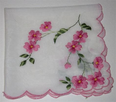 embroidery design handkerchief vintage handkerchiefs visit flickr com hankies
