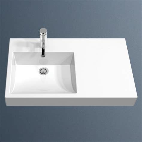 Liano Vanity Basin by Caroma Liano Nexus 750 Wall Basin Lhs 1th