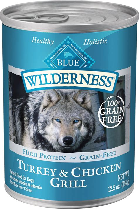 blue buffalo wilderness puppy blue buffalo wilderness turkey chicken grill grain free canned food 12 5 oz