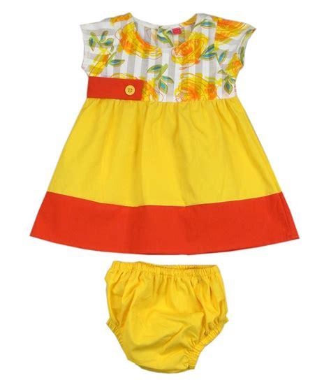 half froks pic ssmitn yellow short half frock buy ssmitn yellow short