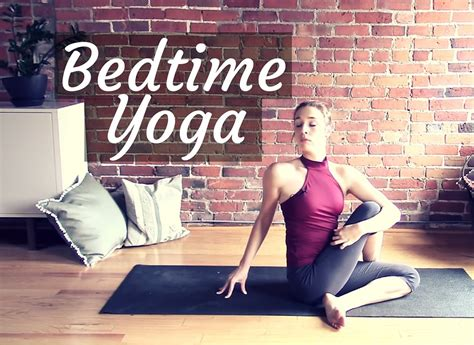 bed time yoga bedtime yoga for a good night s rest 30 min gentle hatha