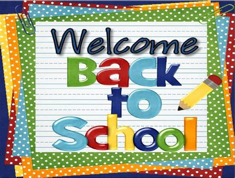 back to school clipart clipart welcome back to school 101 clip