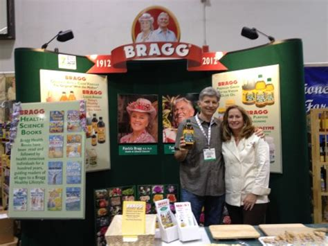 expo natura the expo west show in the bragg booth with george