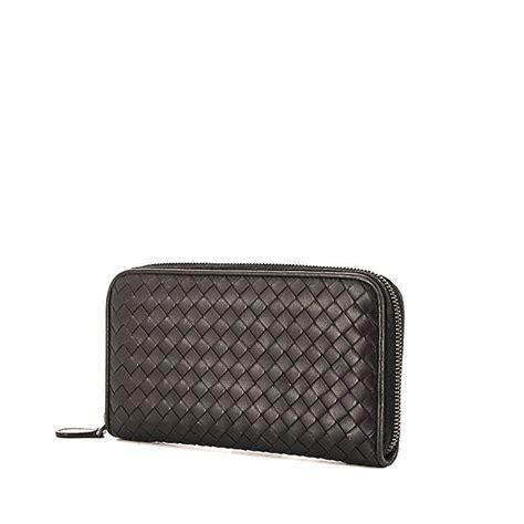 Bottega Veneta Intrecciato Karung Leather Wallet by Bottega Veneta Wallet 339409 Collector Square