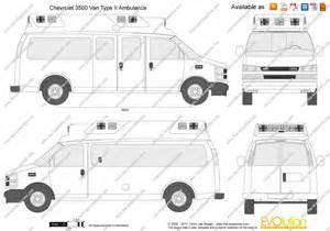 the blueprints vector drawing chevrolet express