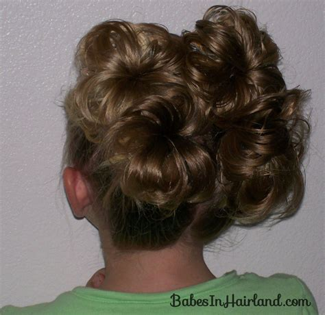 hairstyles fancy buns 4 fancy schmancy buns babes in hairland