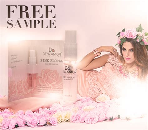 Free Perfume Giveaway - free dewamor pink floral fragrance sles giveaways