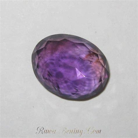 Kecubung Amethys 15 batu kecubung brazil warna ungu tua oval 7 15 carat