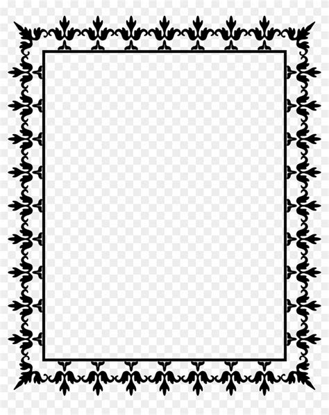 printable april border use the border in microsoft word or other