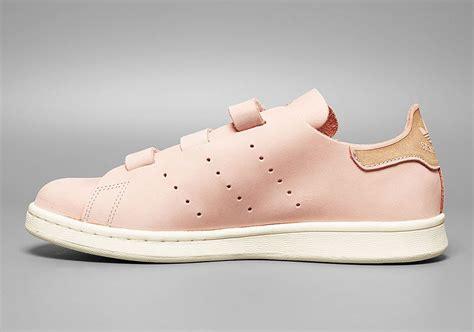 adidas stan smith  piece strap vapor pink sweet kicks