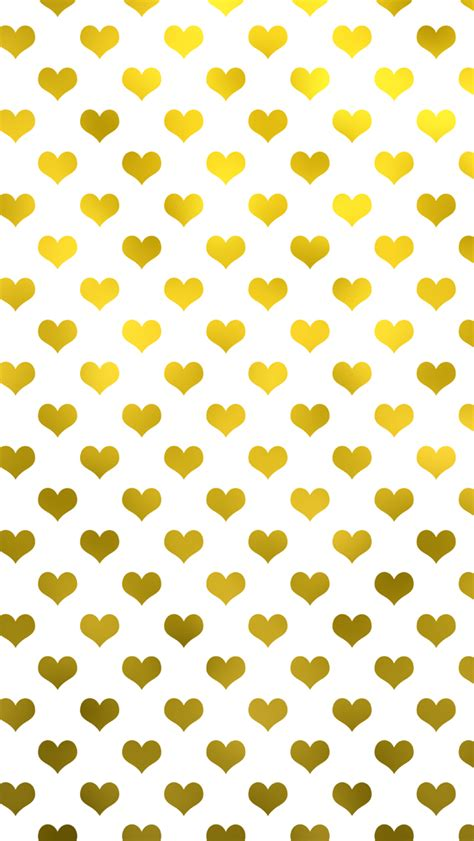 gold heart pattern gold hearts wallpaper wallpapersafari
