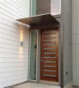 Mid Century Modern Exterior Doors by 78 Ideas About Front Door Awning On Metal