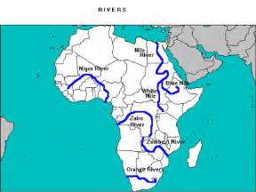Africa River Map by Sub Saharan Africa Mr Barton World History Period 6