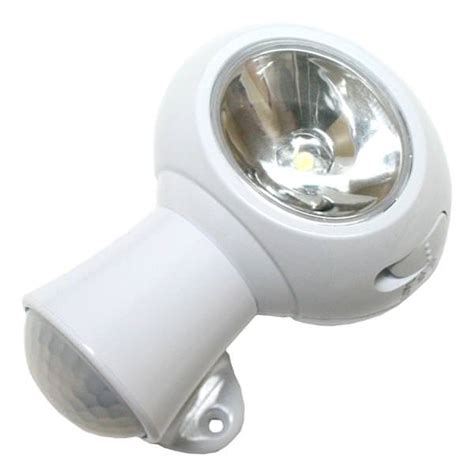 sylvania sensor light sylvania 72178 white led motion sensor light batteries
