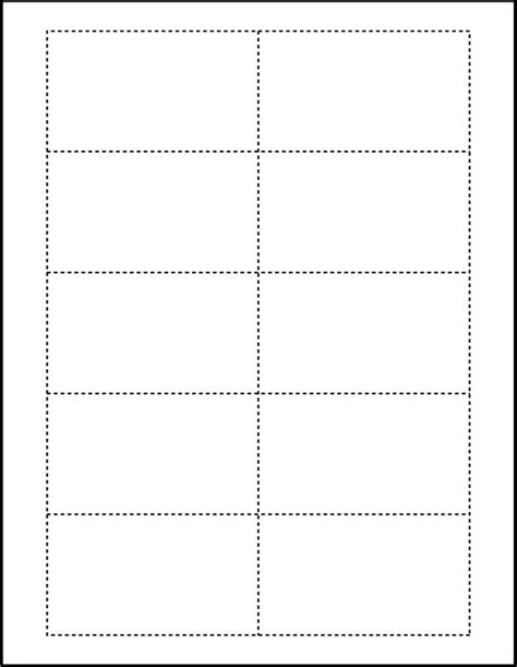 blank card template word free blank business cards templates on websites for