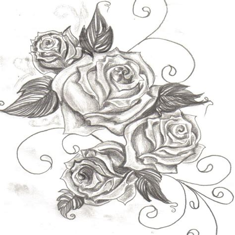 download rose tattoo drawing outline tattoovorlagenideen me