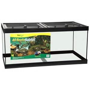 40 Gallon Reptile Turtle Tank ReptoHabitat   Tetra Aquarium