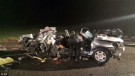 car crash in vista ca tragedy as two toddlers and three die in on