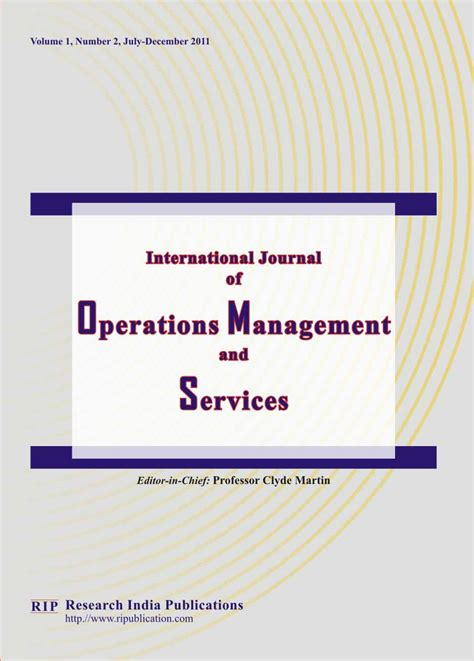 Operation Research Letter Journal operations research paper journal countriessided cf