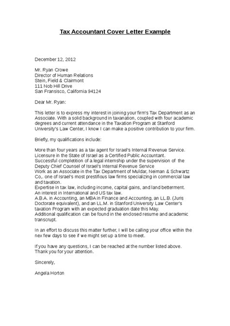 Cover Letter Accounting Examples – Accountant Resume Sample and Tips   Resume Genius