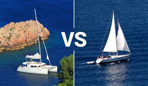yacht vs sailboat what to charter this summer monohull or catamaran
