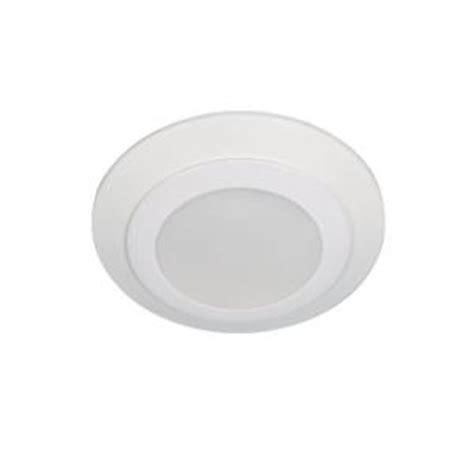 Home Depot Led Recessed Lights by Sea Gull Lighting Traverse White Recessed Retrofit Indoor Led Flushmount 14601s 15 The Home Depot