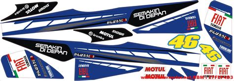 Striping Modifikasi Yamaha Yz 85 striping motor custom design stikermotor net part 125