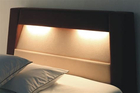 reading light headboard headboard with reading l and safe photo detailed about