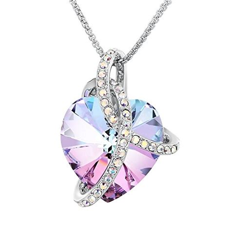 Anting Hati Pink Swarovski compare prices on honey and sterling silver flaming sun pendant 18 mega discounts on