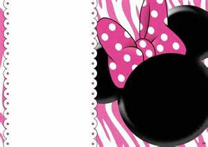 minnie mouse invitations printable templates free