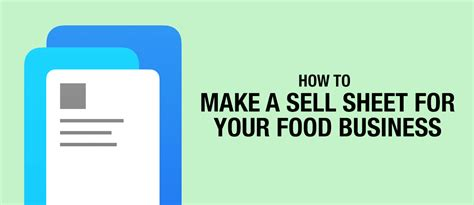 23 shockingly simple sales ideas for sellers start ups and small businesses make money boost motivation improve sales and make sales easy and again books how to make a sell sheet for your food business gredio