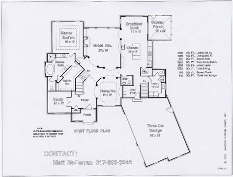 Kitchen Great Room Floor Plans | ranch kitchen layout best layout room