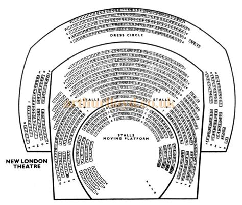 theatre layout names the new london theatre drury lane and parker street london