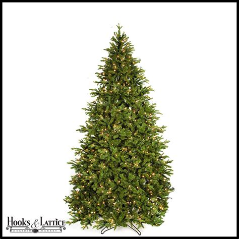 pre lit trees with led lights 9 ft kelso pre lit pine artificial tree w warm