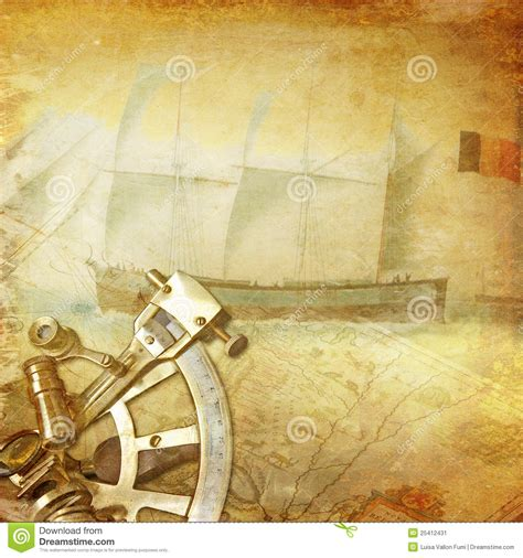 Nautical Chart Wallpaper by Vintage Nautical Background Stock Image Image 25412431