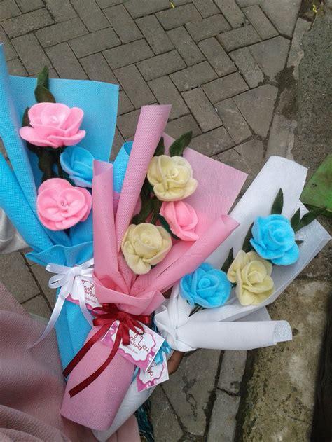 tutorial membungkus buket bunga flanel jual beli mini buket bunga flanel baru jual beli bukalapak