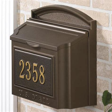 colonial address plaque outdoor