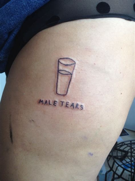 tears tattoo a cup of tears tattoos