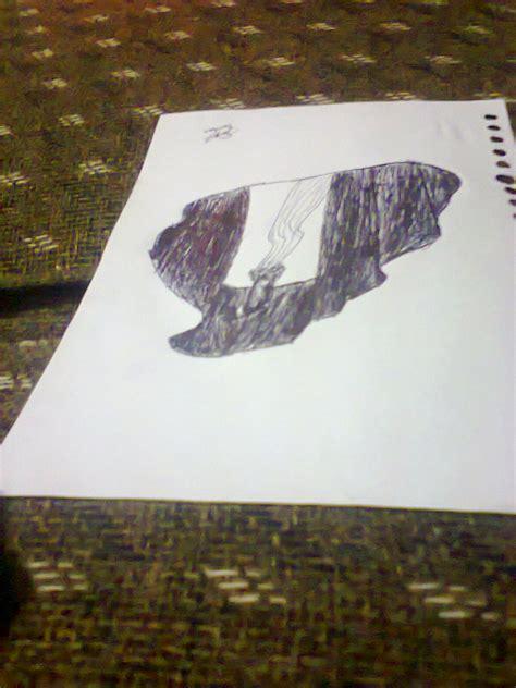 membuat gambar 3d pensil gambar nirmana trimatra dimensi ogikurniansyah gambartop